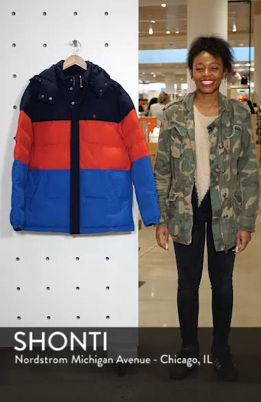 Oversize Quilted Jacket, sales video thumbnail