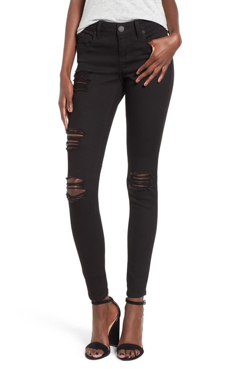 STS BLUE Piper Destroyed Skinny Jeans, Main, color, 002