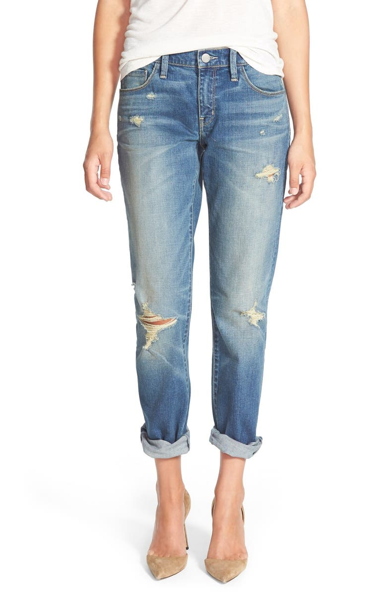 TREASURE & BOND Treasure&Bond Boyfriend Jeans, Main, color, 400