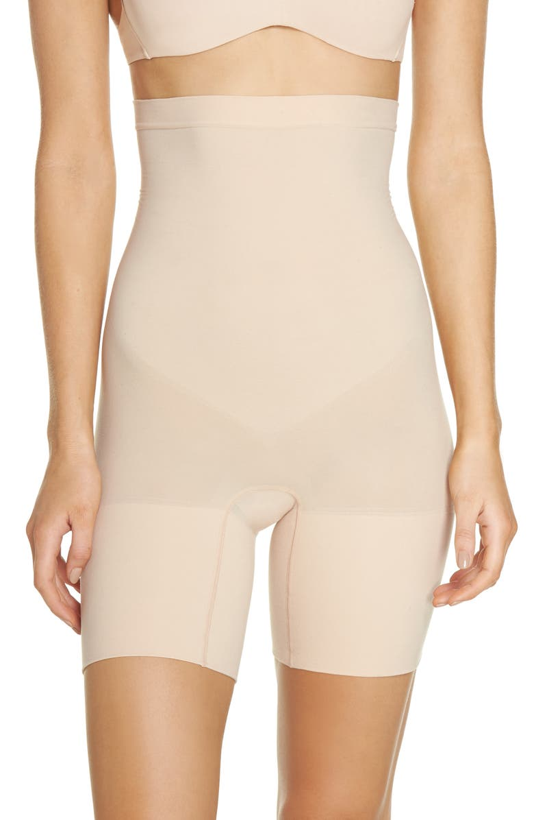 SPANX<SUP>®</SUP> Higher Power Shorts, Main, color, SOFT NUDE