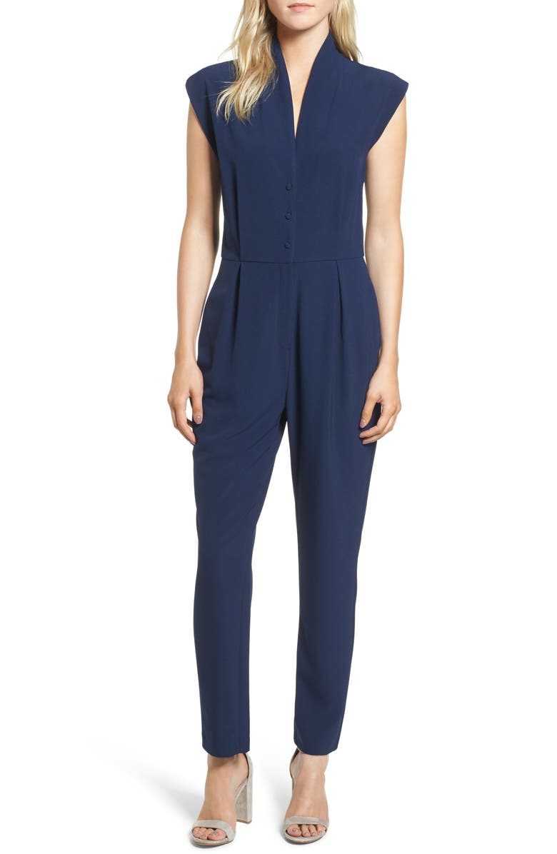 CUPCAKES AND CASHMERE Hanna Jumpsuit, Main, color, 410