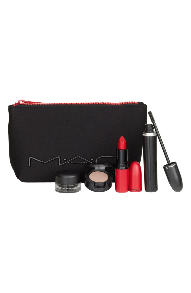 MAC COSMETICS MAC 'Look in a Box - Downtown Diva' Red Lip & Eye Kit, Main, color, No Color