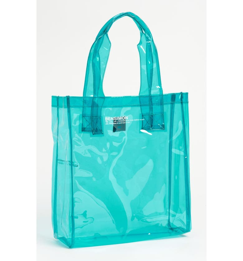 BENSIMON Transparent Tote, Main, color, 400