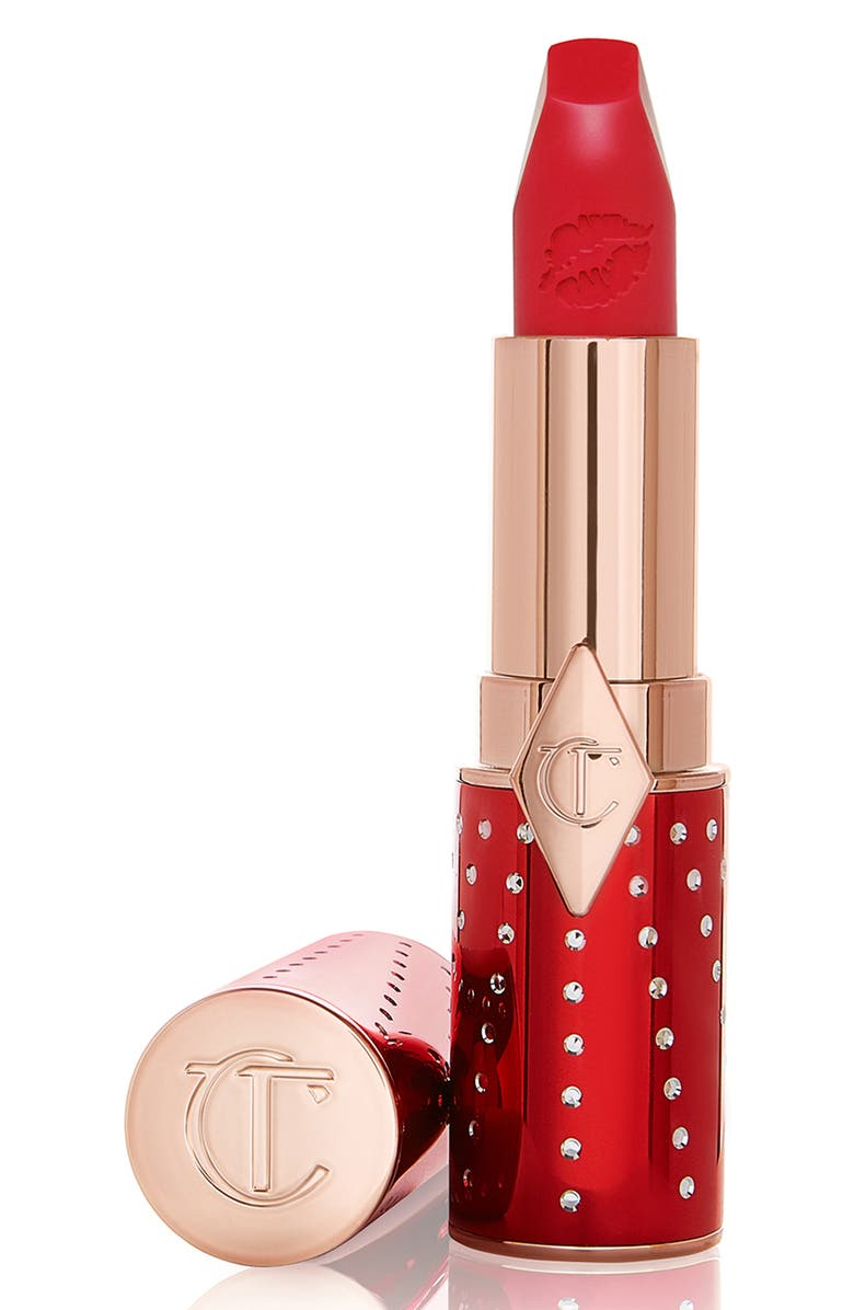 CHARLOTTE TILBURY Lucky Cherry Matte Revolution Lipstick, Main, color, 000