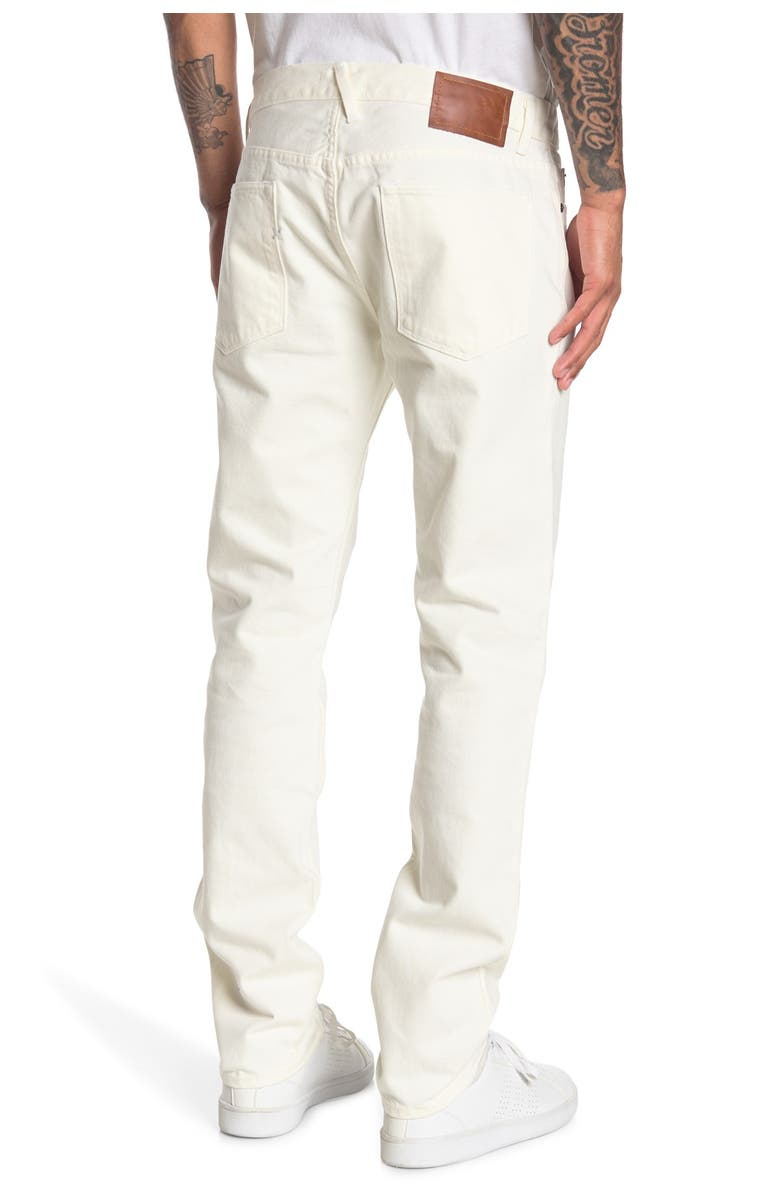 ALEX MILL Mill Straight Leg Jeans, Main, color, WHITE