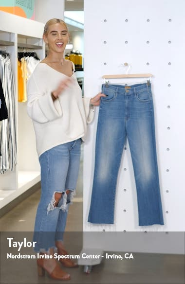 The Hustler Frayed Ankle Jeans, sales video thumbnail