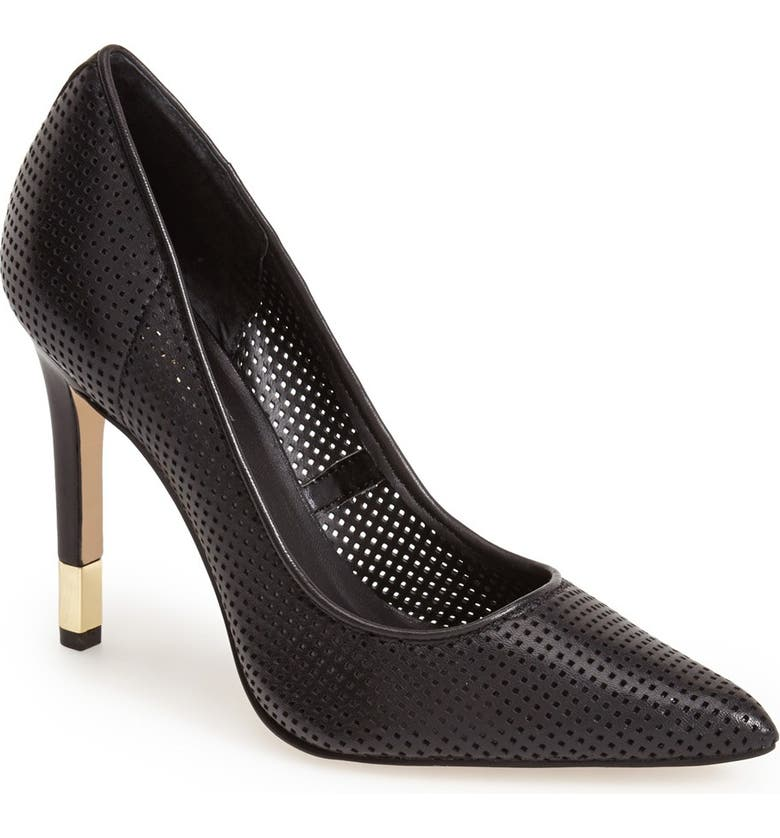 GUESS 'Rabbit' Pointy Toe Pump, Main, color, 001