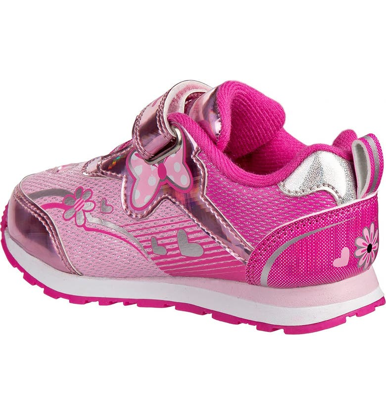JOSMO Minnie Mouse Sneaker, Main, color, PINK