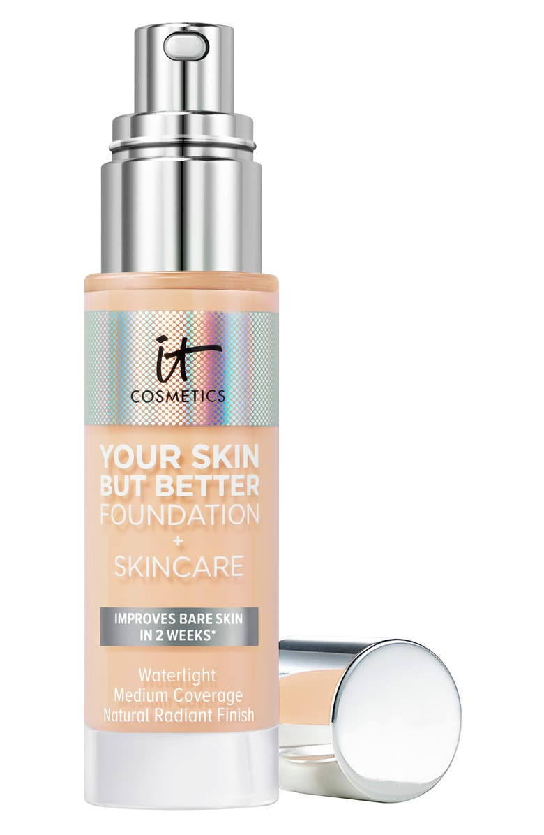 IT COSMETICS Your Skin But Better Foundation + Skincare, Main, color, FAIR WARM 12
