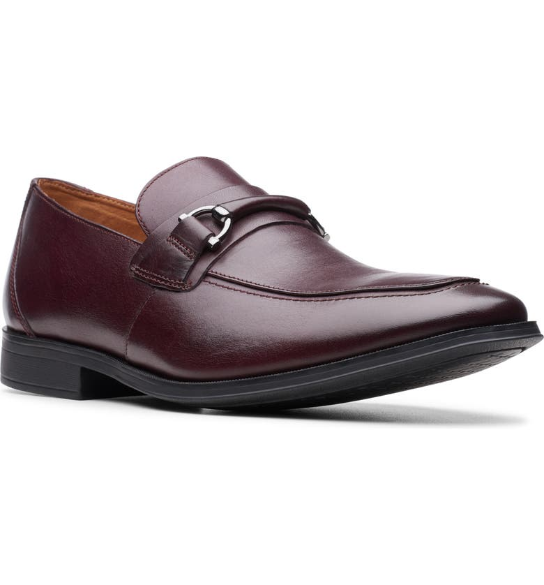 CLARKS<SUP>®</SUP> Gilman Bit Loafer, Main, color, 200