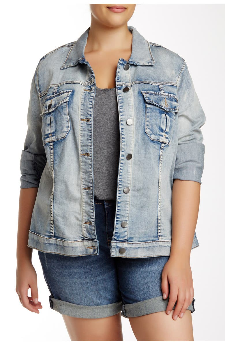 KUT FROM THE KLOTH Denim Jacket, Main, color, 272