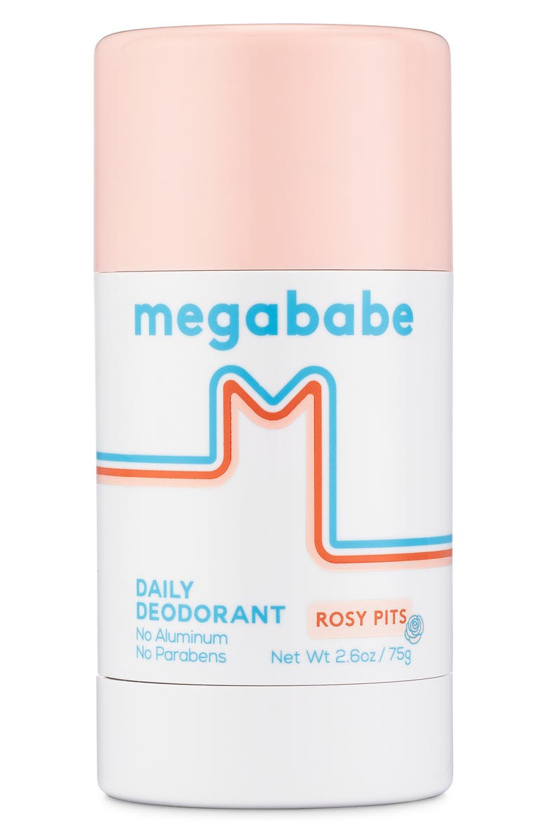 MEGABABE Rosy Pits Aluminum Free Deodorant, Main, color, 100