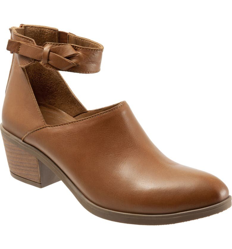 BUENO Carly Bootie, Main, color, BROWN NUBUCK