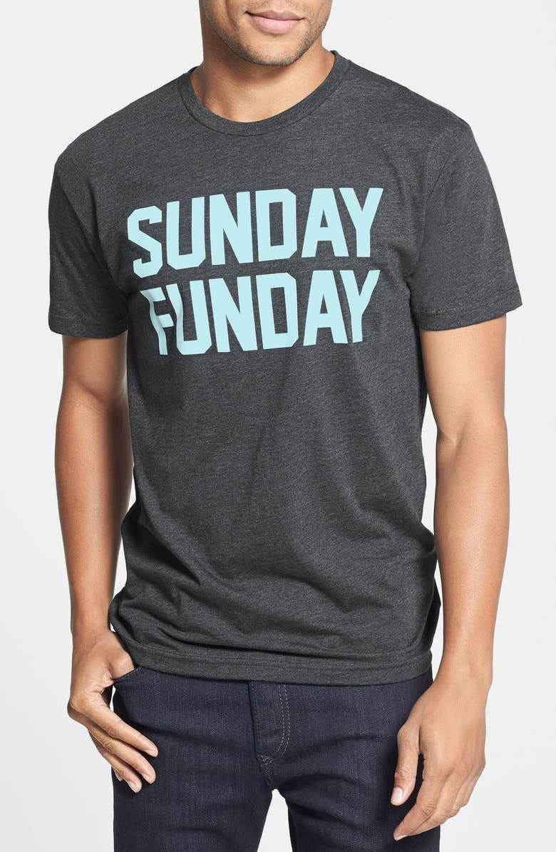 KID DANGEROUS 'Sunday Funday' Graphic T-Shirt, Main, color, 010