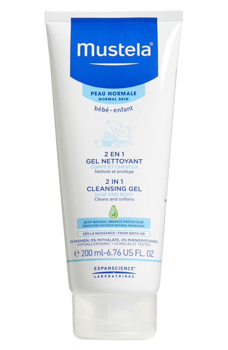 MUSTELA<SUP>®</SUP> 2-in-1 Cleansing Gel for Hair, Main, color, NONE