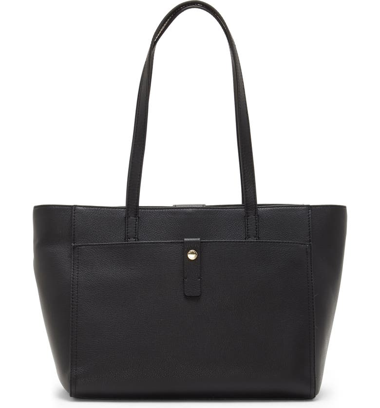 VINCE CAMUTO Adler Leather Tote, Main, color, 001