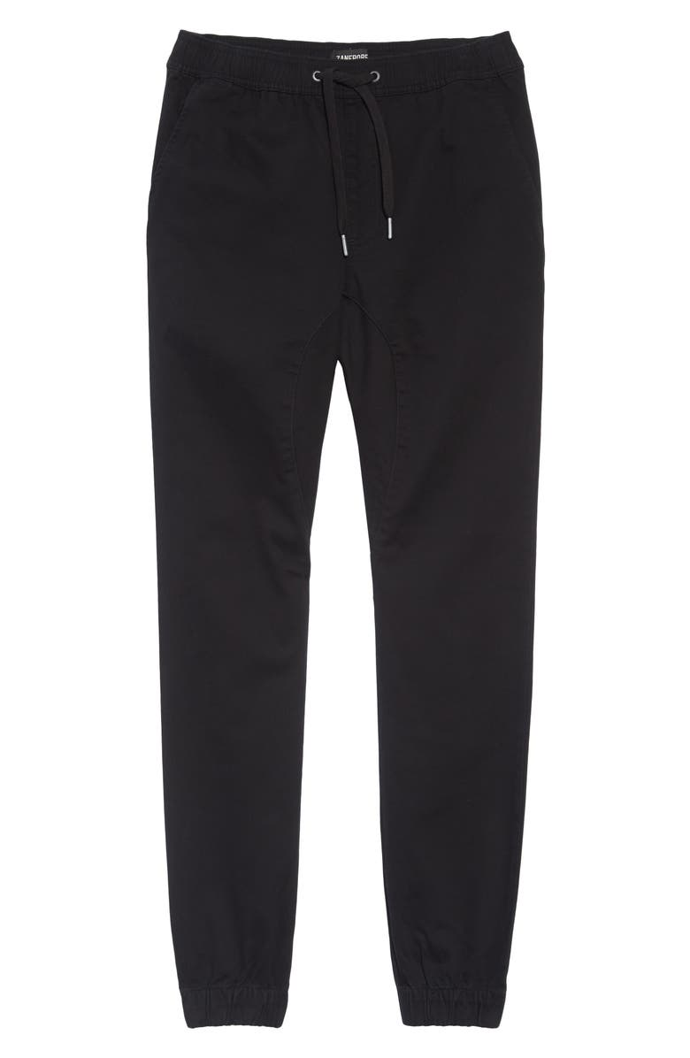 ZANEROBE 'Sureshot' Tapered Leg Jogger Chinos, Main, color, BLACK