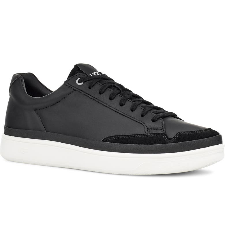 UGG<SUP>®</SUP> South Bay Sneaker, Main, color, BLACK LEATHER