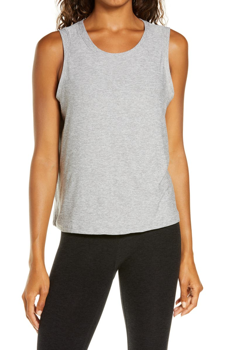 BEYOND YOGA Balanced Muscle Tank, Main, color, 030