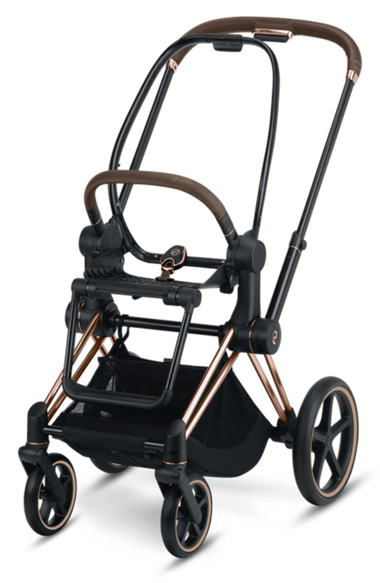 CYBEX Priam Stroller Frame with All Terrain Wheels, Main, color, ROSE GOLD