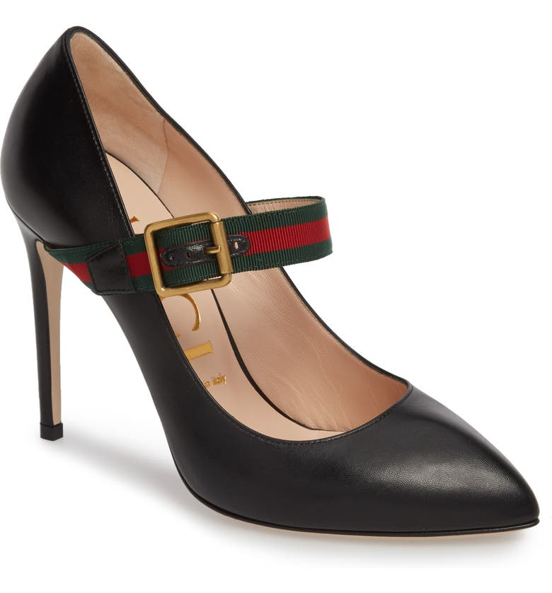 GUCCI Mary Jane Pump, Main, color, 001