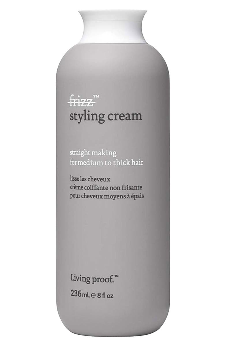 LIVING PROOF<SUP>®</SUP> 'No Frizz' Straight Making Styling Cream for Medium to Thick Hair, Main, color, No Color