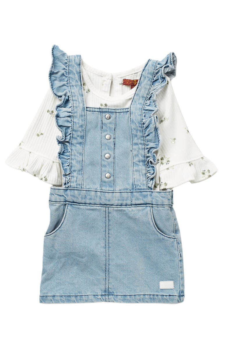 7 FOR ALL MANKIND 2-Piece Jumper Set, Main, color, MARSHMALLOW