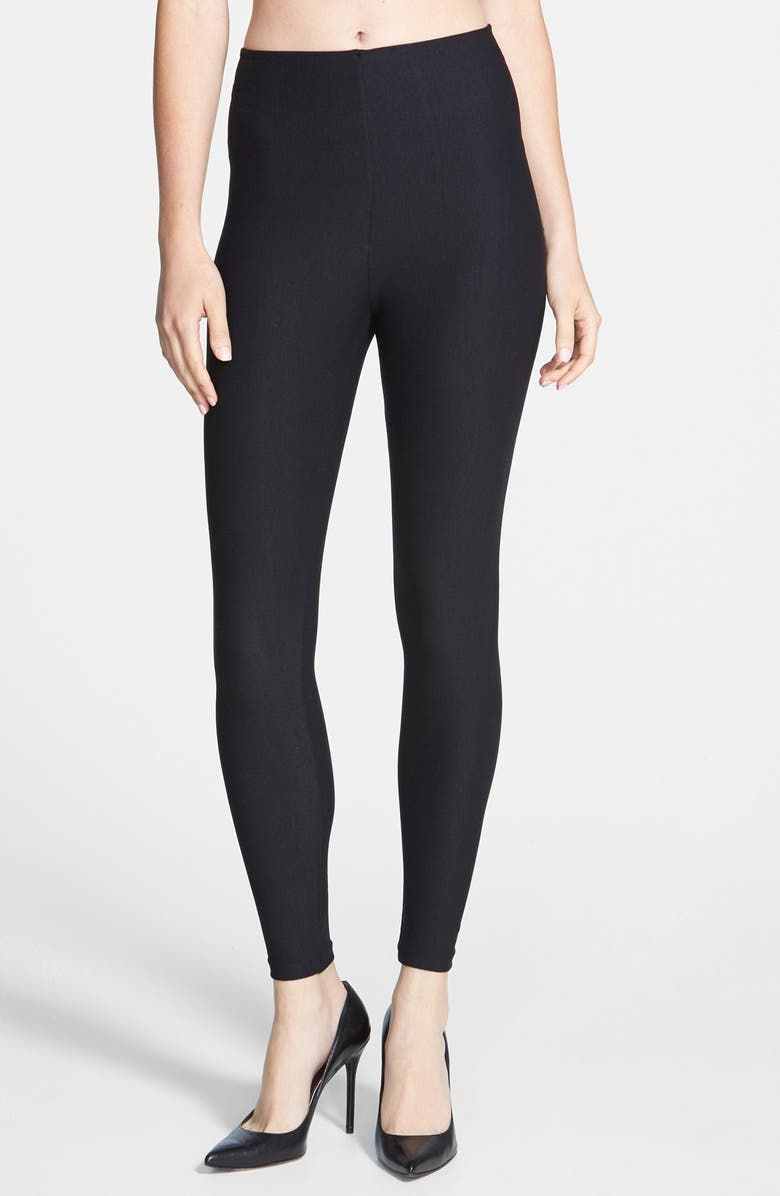 COMMANDO Control Top Leggings, Main, color, BLACK