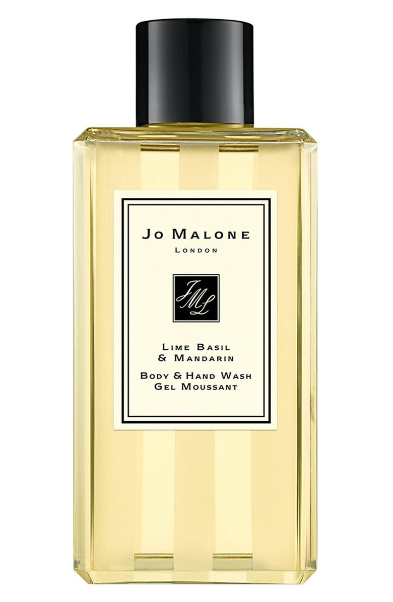 JO MALONE LONDON<SUP>™</SUP> Lime Basil & Mandarin Shower Gel, Main, color, NO COLOR