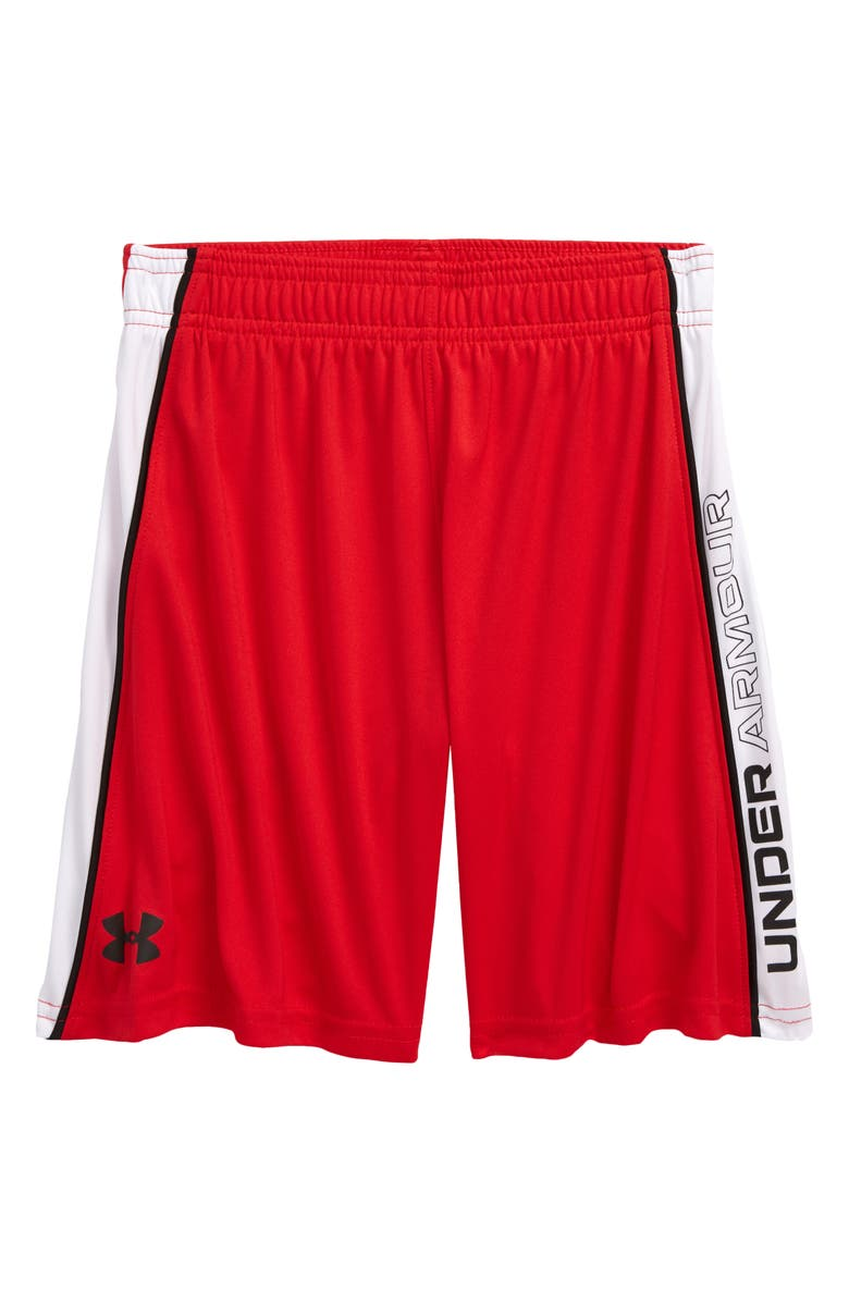 UNDER ARMOUR Kids' Lead Athletic Shorts, Main, color, 621