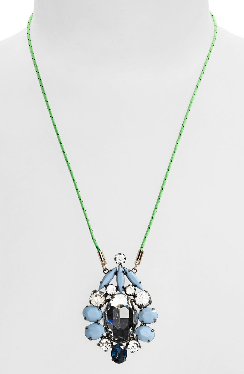 CARA Couture 'Dandy' Statement Necklace, Main, color, 300