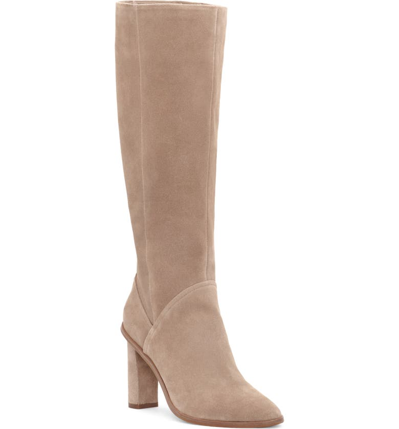VINCE CAMUTO Phranzie Knee High Boot, Main, color, TRUFFLE TAUPE