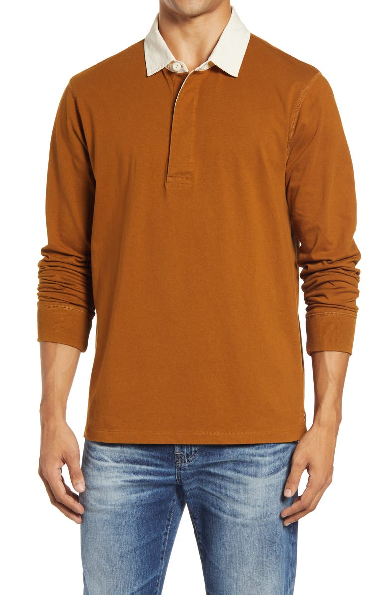 MADEWELL Rugby Shirt, Main, color, 203