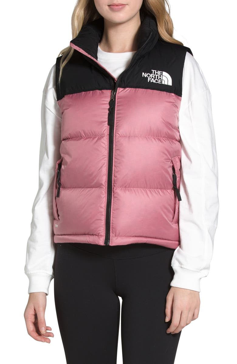 THE NORTH FACE Nuptse<sup>®</sup> 1996 Packable 700-Fill Power Down Vest, Main, color, MESA ROSE