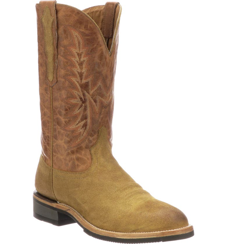 LUCCHESE Rudy Cowboy Boot, Main, color, 200