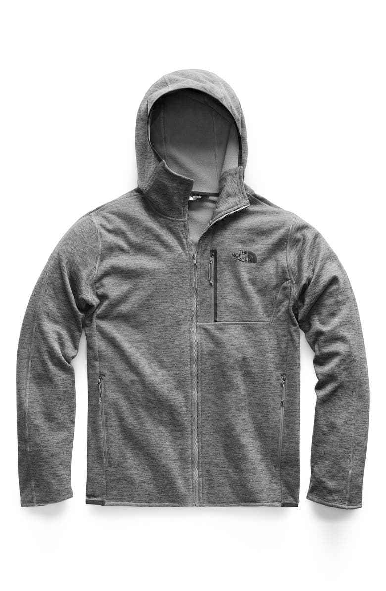 THE NORTH FACE Canyonlands Hooded Jacket, Main, color, TNF MEDIUM GREY HEATHER