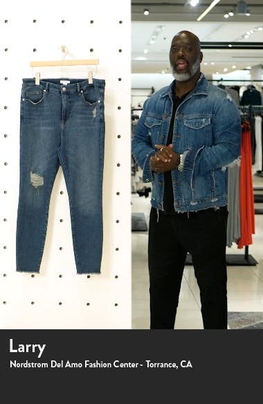 Good Legs High Rise Ankle Cropped Jeans, sales video thumbnail