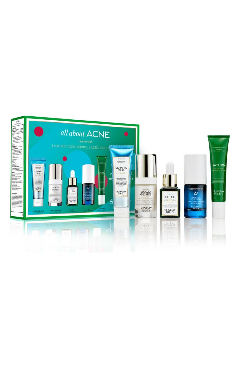 SUNDAY RILEY All About Acne Skin Care Set, Main, color, NO COLOR
