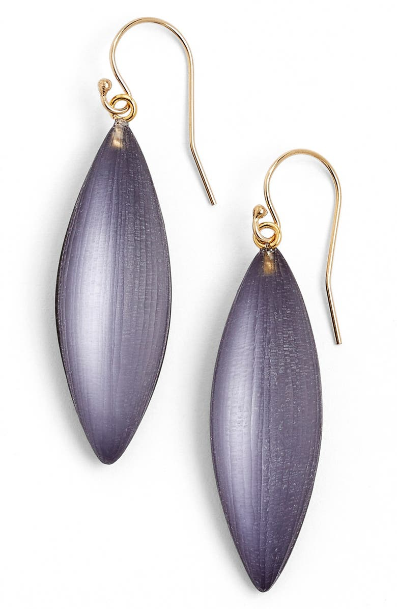 ALEXIS BITTAR 'Lucite<sup>®</sup>' Small Sliver Earrings, Main, color, 400