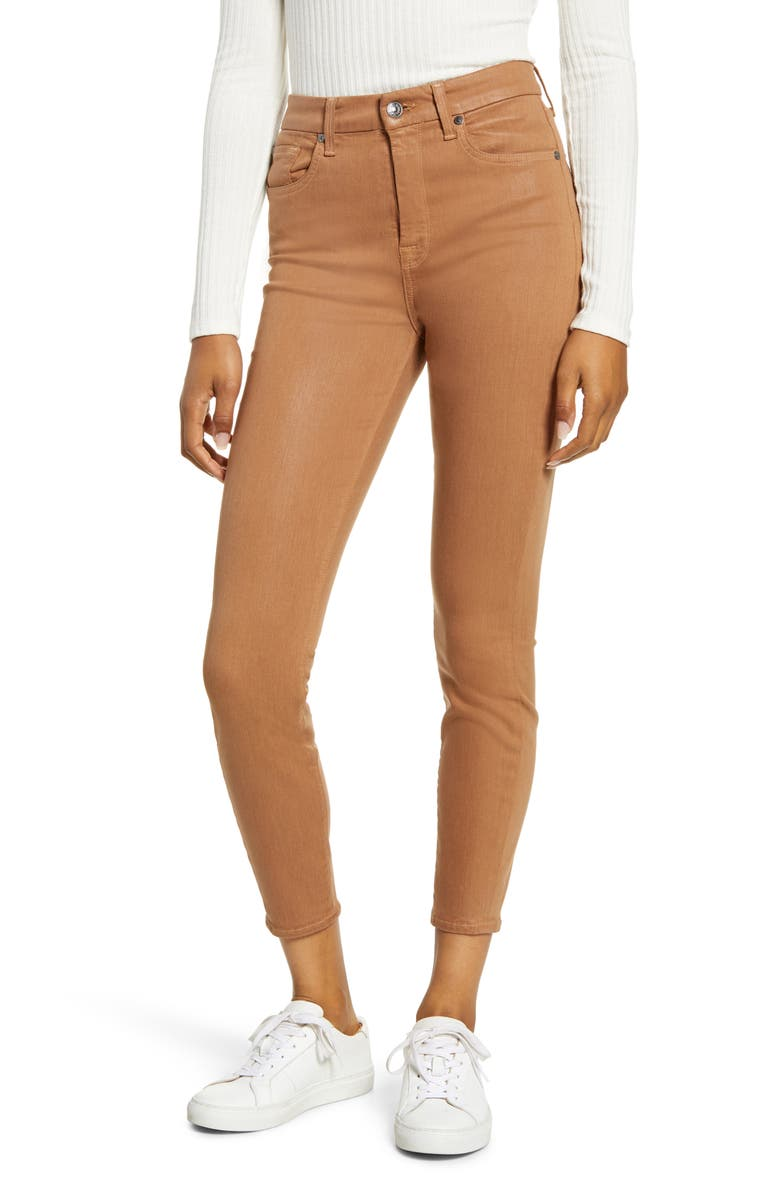 7 FOR ALL MANKIND<SUP>®</SUP> High Waist Ankle Skinny Jeans, Main, color, 230