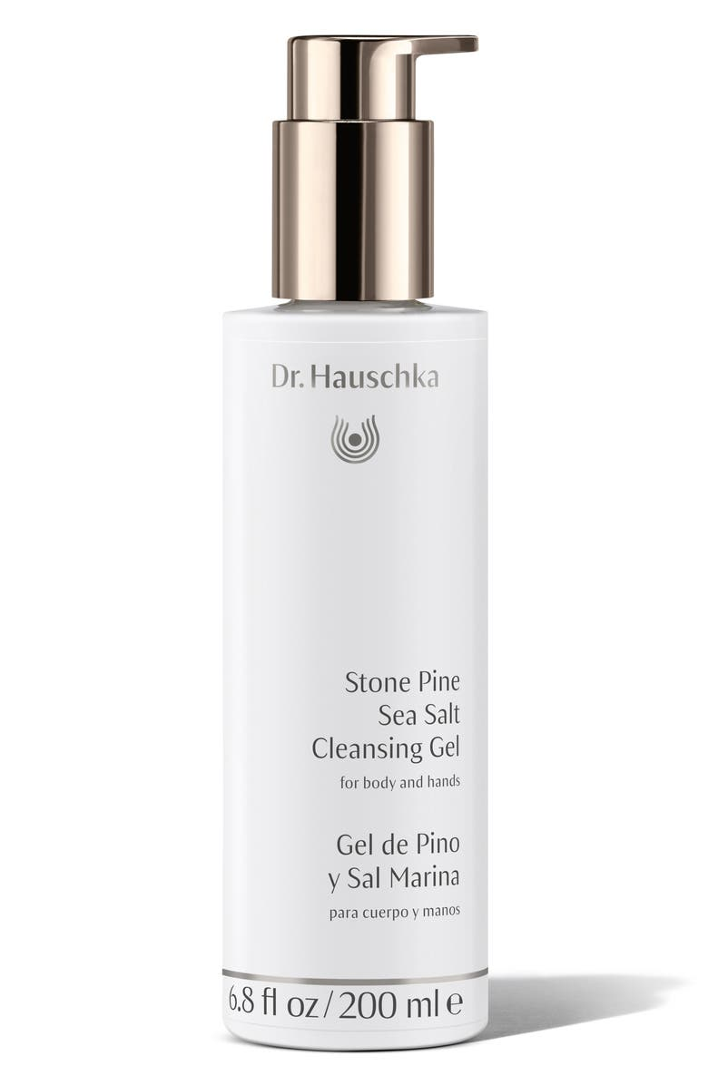 DR. HAUSCHKA Stone Pine Sea Salt Cleansing Gel, Main, color, 000