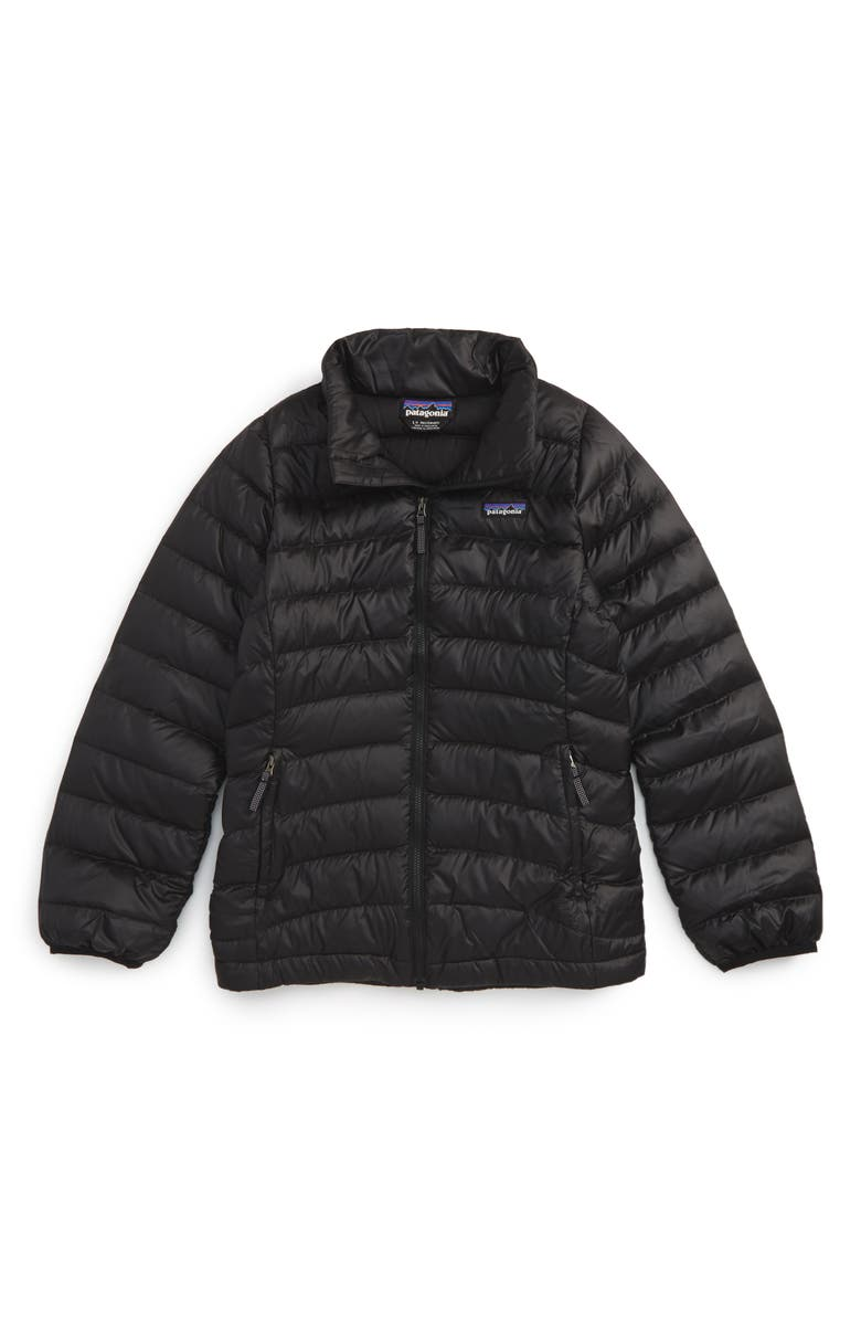PATAGONIA Quilted Down Jacket, Main, color, Black