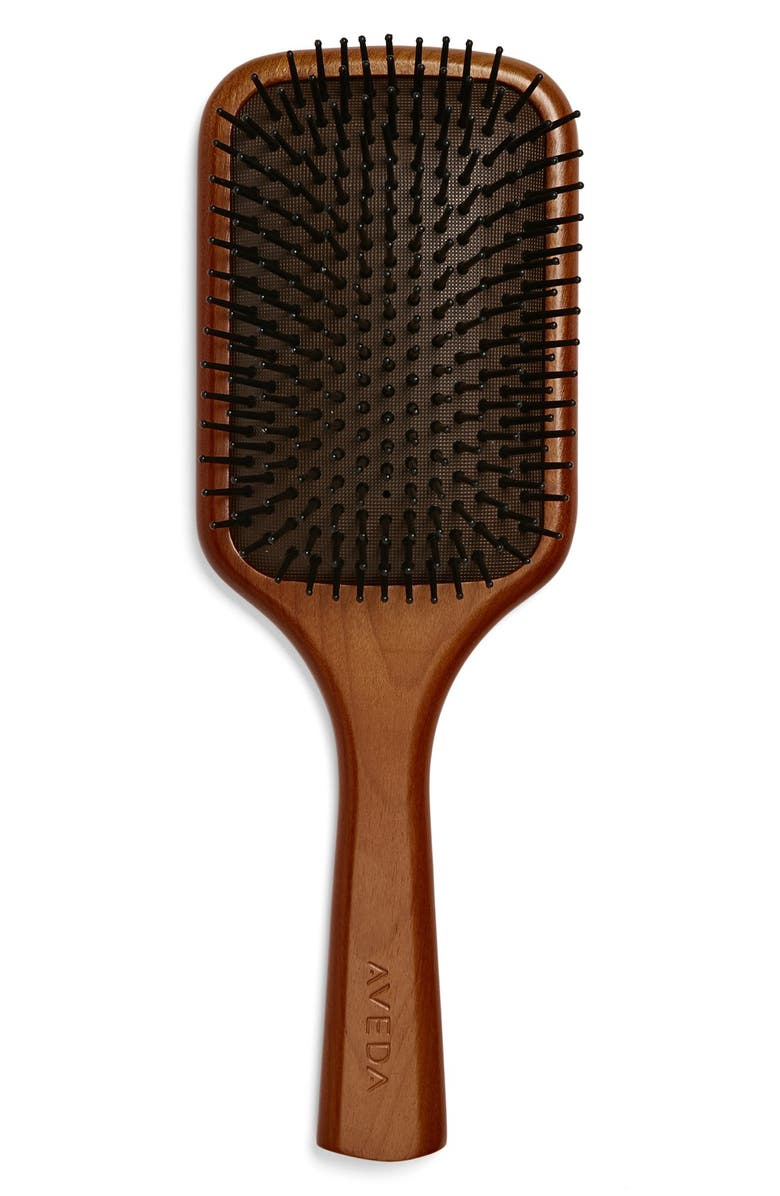 AVEDA Wooden Paddle Brush, Main, color, No Color