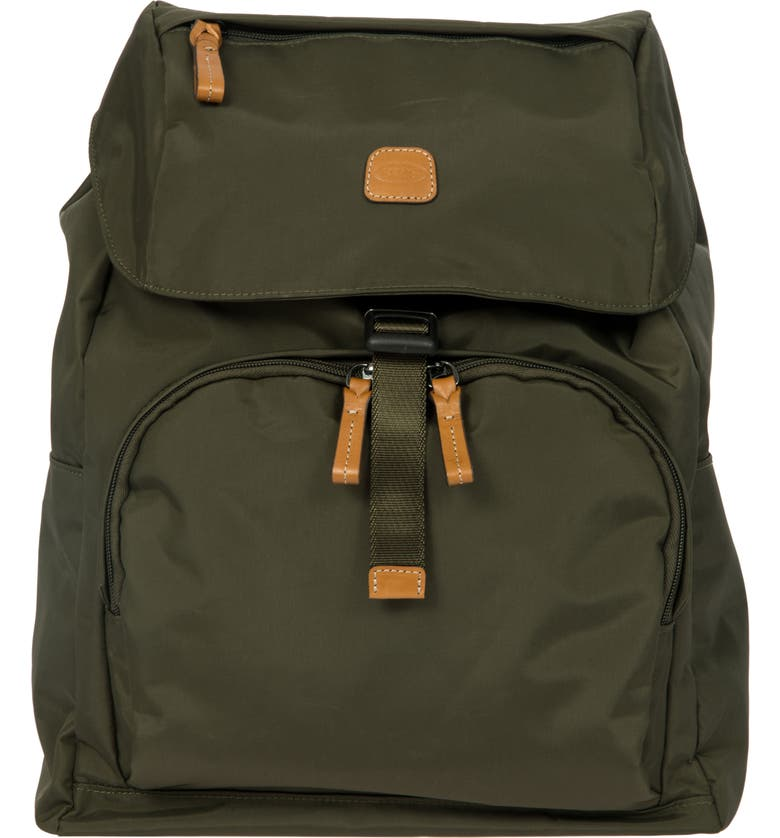 BRIC'S X-Bag Travel Excursion Backpack, Main, color, OLIVE