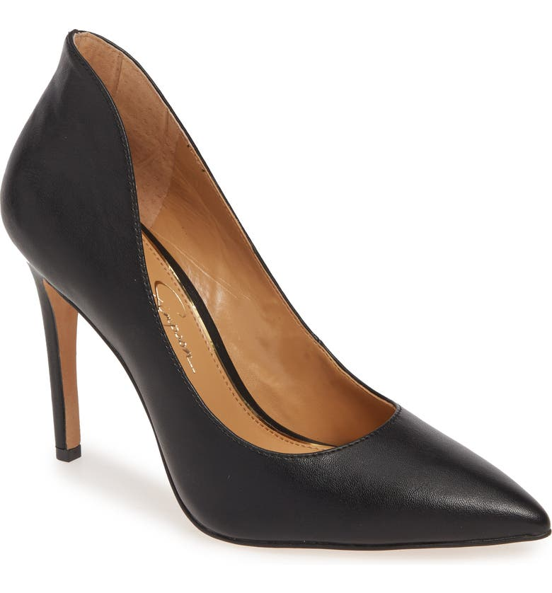JESSICA SIMPSON Parthenia Pointed Toe Pump, Main, color, 001