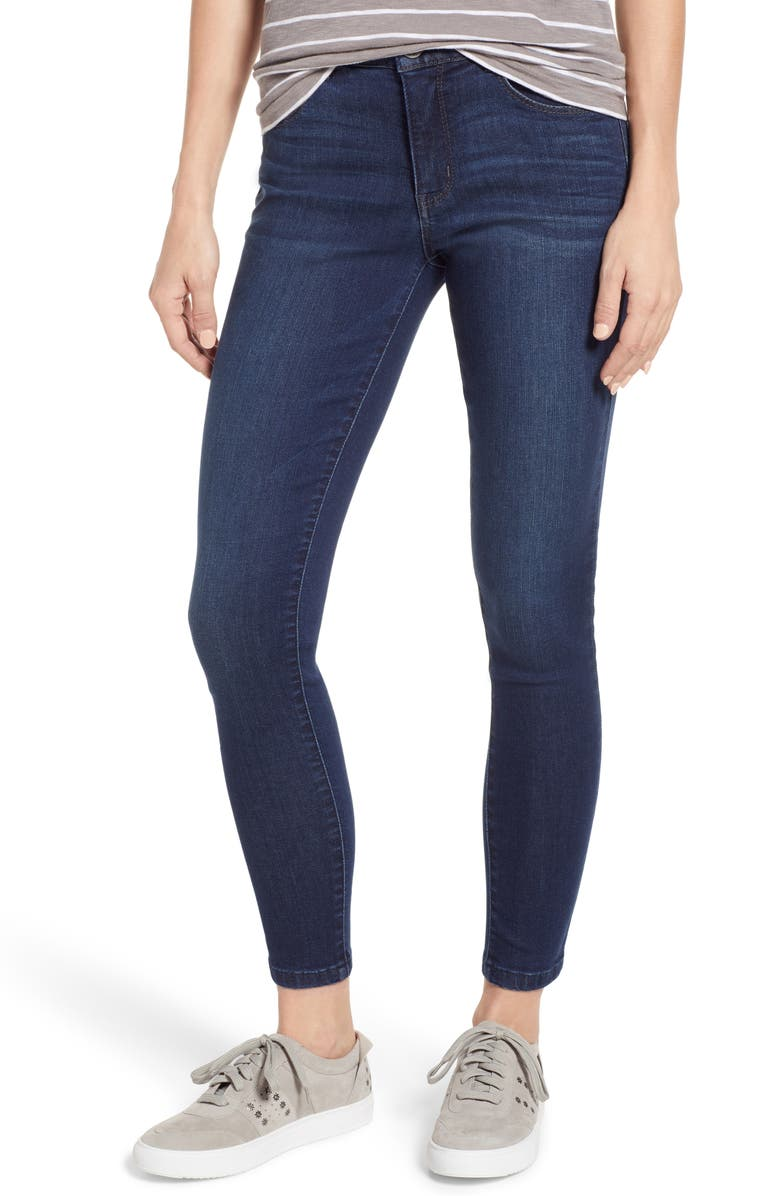 WIT & WISDOM Ab-Solution High Rise Ankle Skinny Jeans, Main, color, 402