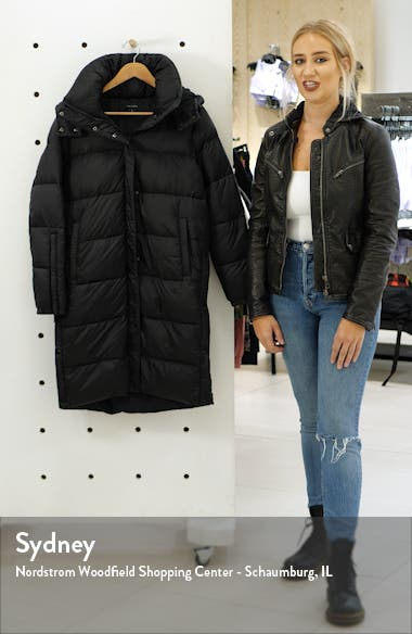 Hooded Puffer Jacket with Removable Hood, sales video thumbnail