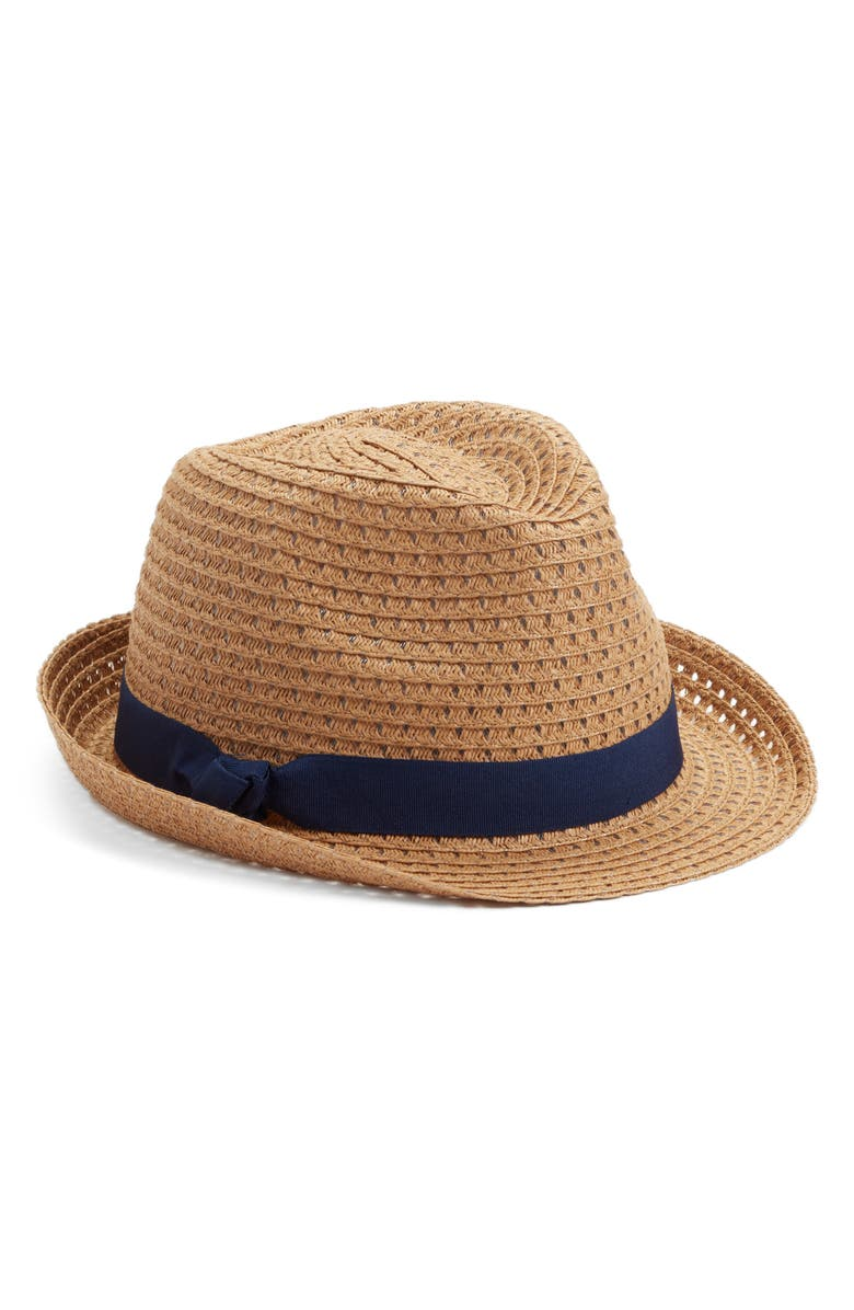 HALOGEN<SUP>®</SUP> Straw Trilby, Main, color, 238