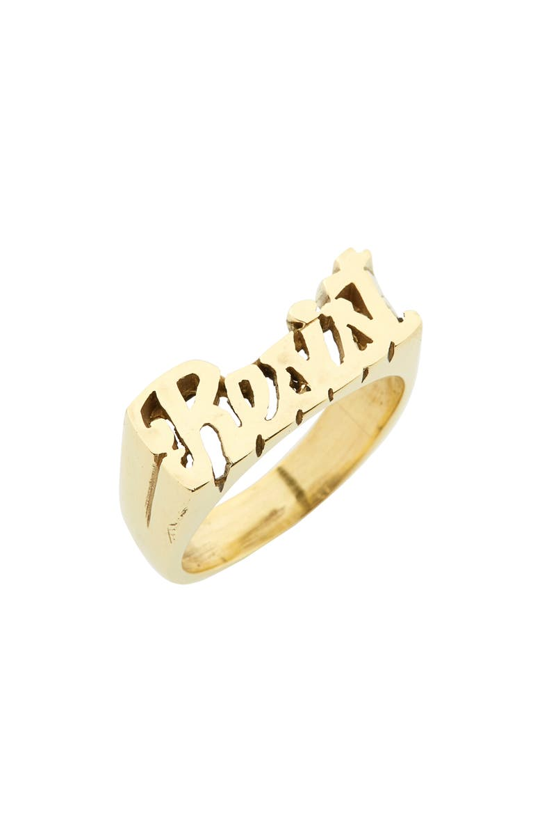 MELODY EHSANI Resist Ring, Main, color, GOLD