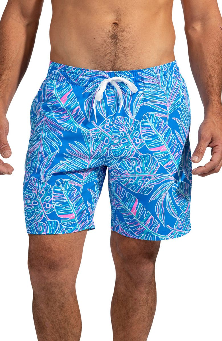 CHUBBIES The Cruise It or Lose It 5.5-Inch Swim Trunks, Main, color, MEDIUM BLUE